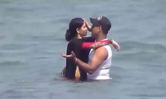 Romantic Indian Couples are Enjoying in beaches