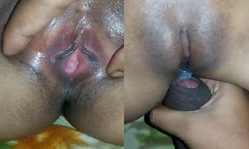 Fucking my Virgin Desi Wife Shaved Pussy