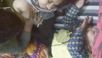 Indian Couple Romance and fucked live Show
