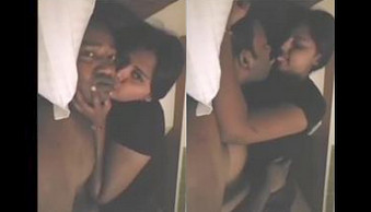 Tamil sex video of a hot couple enjoying romantic home sex