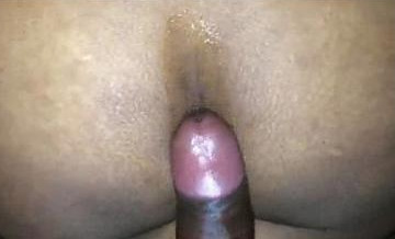 Desi Indian guy spying his girlfriend while fucking her ass