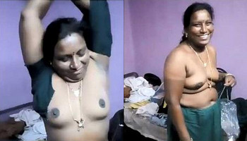 Very shy Indian aunty stripping infront of hubby