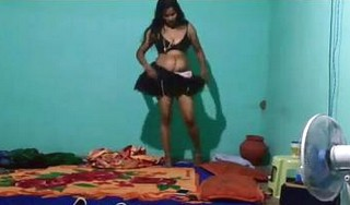 Sexy desi bhabhi wearing panty after fucking
