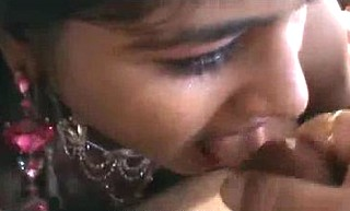 Two desi randi sucking client small cock