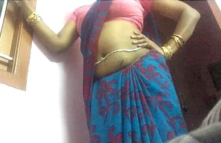Tamil Saree Wife Sexy Teasing for Viewers