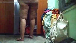 Desi bhabhi's big ass recording by hidden cam by hubby