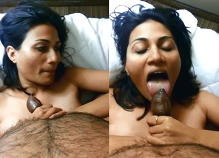 Beautiful Horny Desi Blowjob