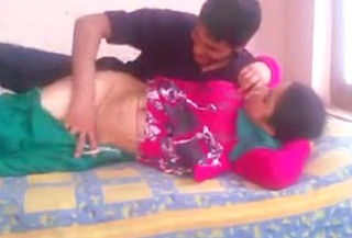 Horny Desi Bhabhi in Salwar Suit Fucked by Young Lover wid Audio