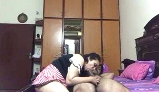 Paki couple enjoying in bedroom