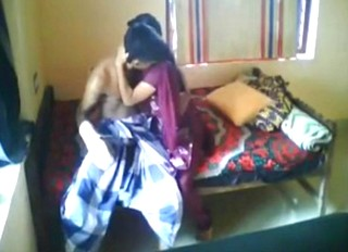 Desi couple enjoying cought by hiddencam
