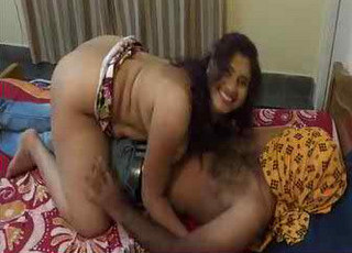Indian desi randi teasing with her customer