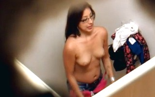 Young girls hidden cam in dressing room