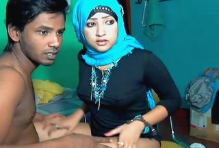 Indian muslim couple Riyazeth and Rizna private Show