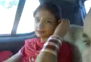 Amritsar Colg Lovers MMS in Car