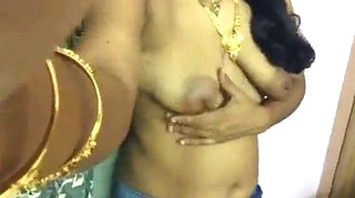 Tamil Maami taking video to husband