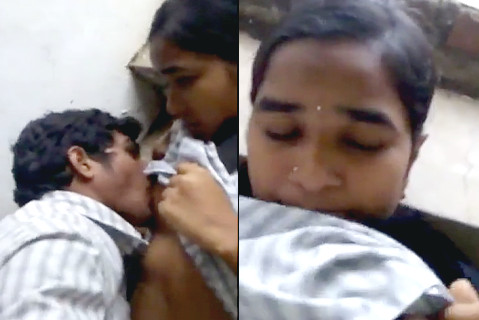 Amalapuram College Girl Boobs sucked and fingered