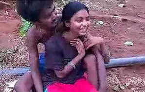 Indian Desi lover romance outdoor