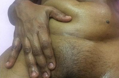 Indian Maami Boobs and pussy Parachute oil massage for tempting
