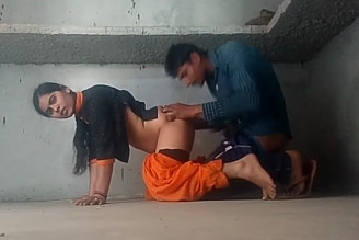 Hot Indian desi couple having fun