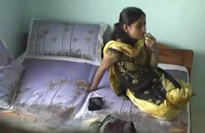 Desi GF in Yellow Black Salwar Suit Fucked Hard