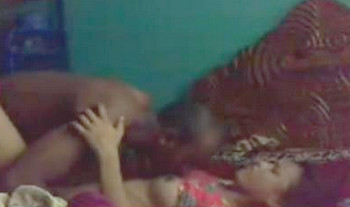 Desi wife enjoys early morning sex with her horny husband