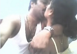 Indian bhabhi sucking and kissing