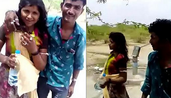 Indian Village Bhabhi outdoor fun With Devar