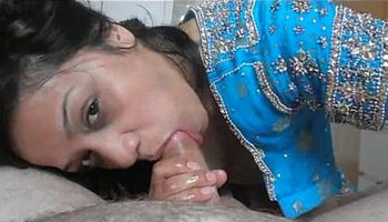 Sexy Indian wife hand job blowjob and cumshot in her mouth by Foreigner friend 720p