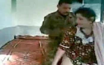 beautiful Indian bhabhi unwilling sex with soldier