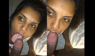 NRI Girl Deepthroat Blowjob Doggy Style Fucking and Cum Swallowing