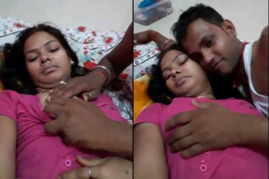 desi couple boobs exposed n sucked