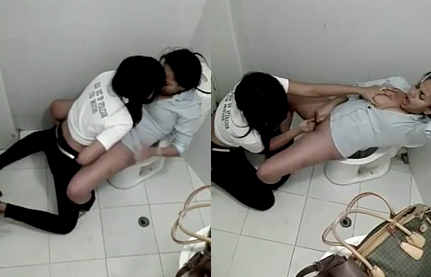 desi girls fingring in public toilet