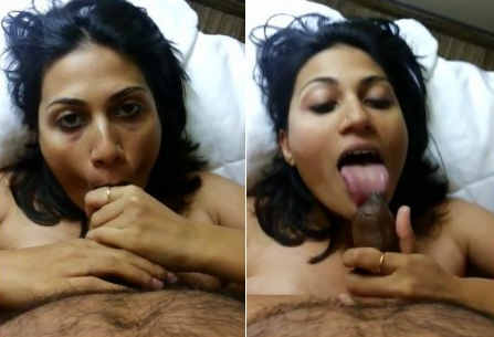 Waah Hoot Desi supr hot GF BJ