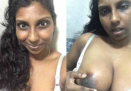 desi aunty hot nip press