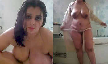 Sexy Desi Queen Showing and Taking Morning Bath In Jacuzzi