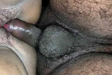 desi wife hairy pussy doggy fuck with wife moaning