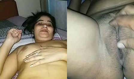 sexy indian wife boob and pussy capture by hubby