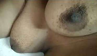Desi wife milky boobs