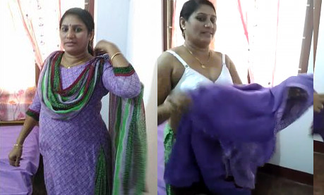 Indian Bhabhi stripped clothes