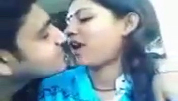 sexy desi couple deep kiss with chewin gum swap