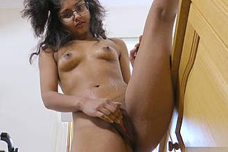 Cute Indian Hot Teen Masturbating In Kitchen