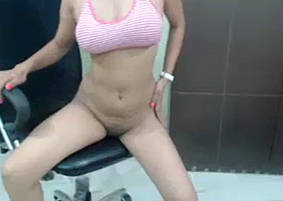 Slim Indian Girl Strip SHow 2