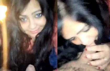 Beautiful punjabi cock hungry girl sucking like LOLIPOP