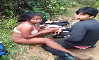 Desi couple caught in jangle