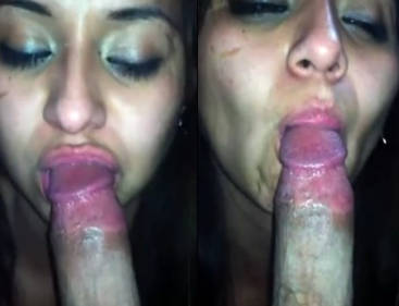 trisha look alike girl sucking cock