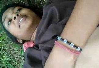 Sexy Indian Girl Boob Pressing and pussy Fingering By Bf