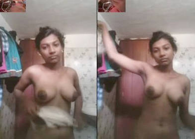desi couple video call