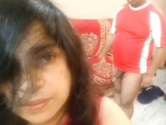 desi indian middle age couple hot fuck in sofa and in bedroom