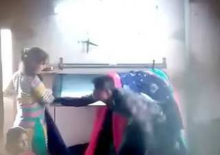 Fun desi local working in worker place