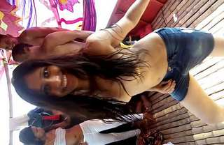 desi cute girl nude dance for mney in boat